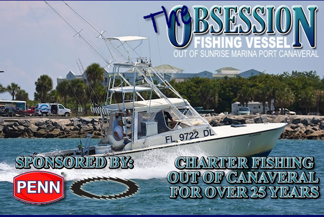 The Obsession Charter Fishing Boat